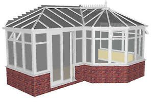 P-Shaped Conservatories Peterborough