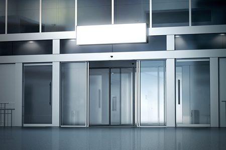 Commercial Aluminium Automatic Doors Peterborough