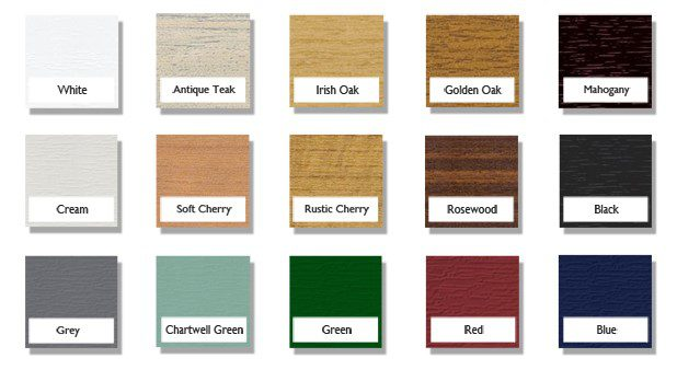 upvc doors colour options Peterborough