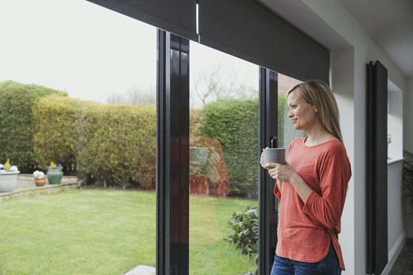 Aluminium Bi-folding doors Peterborough