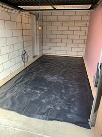 Garage conversion damp proofing Peterborough