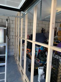 Garage conversion partition Peterborough