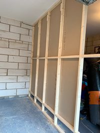 Garage wall partition Peterborough