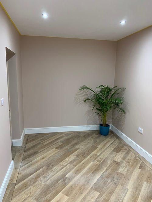 New floor Garage Conversion Peterborough