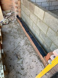 Wall Garage conversion Peterborough